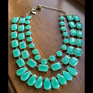 Kate spade 3 strand statement necklace Christmas